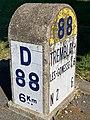 Borne Kilométrique 6 D88 Route Tremblay Villepinte Seine St Denis 13.jpg