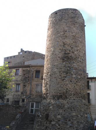 Bouleternère - The round tower in Bouleternère