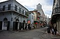 Bourbon Street Bienville Towards Canal Old Absinthe House New Orleans Nov 2016 by Charles Mims.jpg