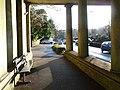 Bournemouth, bench under Braidley Road bridge - geograph.org.uk - 1629694.jpg