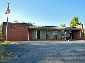 Bowdon, Georgia - Image: Bowdon, GA Post Office (30108)