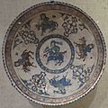 Bowl with horsemen, central Iran, Seljuk period, Cincinnati Art Museum.JPG