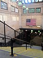 Boylston station outbound headhouse interior, July 2016.JPG