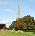 Braunston church spire from the southwest - geograph.org.uk - 1483940.jpg
