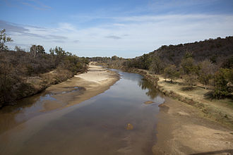 Goodbye to a River - Brazos River in North Central Texas.