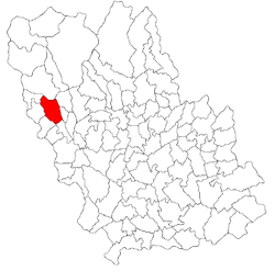 Location of Breaza