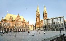 Bremen, Rathaus, Dom und Bürgerschaft