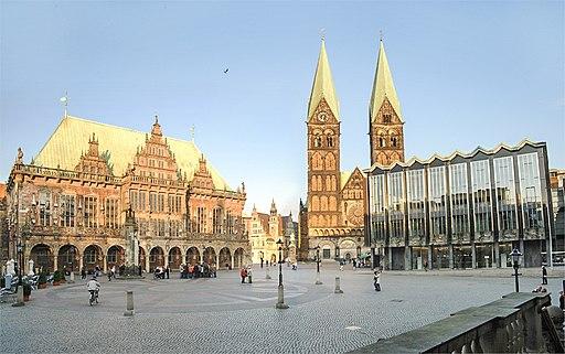 Bremen rathaus dom buergerschaft