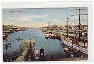 Bremen Freihafen Segelschiff 1911