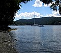 Brentwood Bay from beach. INFO IN PANORAMIO DESCRIPTION - panoramio.jpg