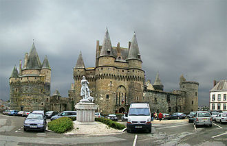 House of Laval - The Château de Vitré, in Brittany