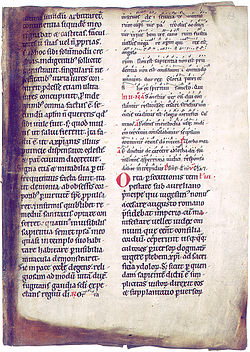 Breviary of Cologne, 12th or 13th century (Helsinki University Library)