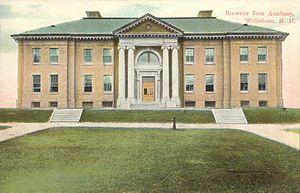Brewster Academy - Image: Brewster Free Academy, Wolfeboro, NH