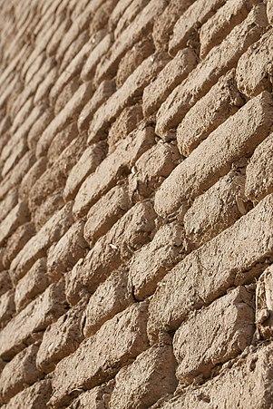 Brick wall in Giza 2.jpg