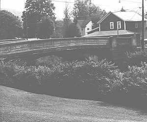 Westover, Pennsylvania - The Bridge in Westover Borough, listed on the National Register of Historic Places