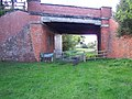 Bridge over disused railway nr Whitchurch - geograph.org.uk - 64070.jpg