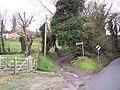 Bridleway from Ebbesbourne Wake to Bowerchalke - geograph.org.uk - 314352.jpg