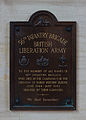 British 56th Infantry Brigade plaque cathedral Bayeux.jpg