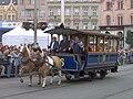 Brno, 140 let MHD (42), náměstí Svobody, koňka.jpg