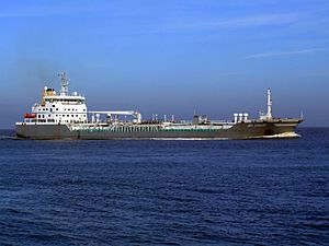 Bro Sincero p4 approaching Port of Rotterdam, Holland 08-Mar-2007.jpg