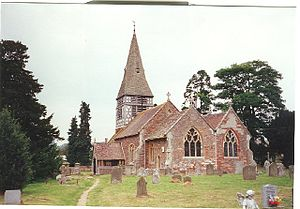 Bromsberrow - Image: Bromesberrow St Mary's Church
