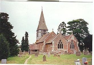 Bromsberrow - Image: Bromesberrow St Mary's Church