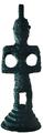 Brontzezko irudia, La Hoyako maila zeltiberiarrean aurkitua, Biasterin (Araba). Gasteizko Arkeologia Museoa.PNG