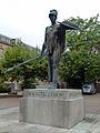 Bronzestatue Pallas Athene Karlsruhe 1.JPG