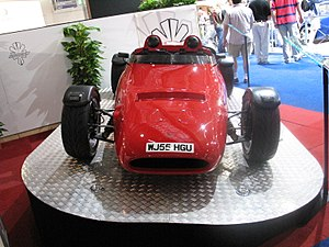 Brooke Double R Cosworth Front at British International Motor Show 2006.jpg