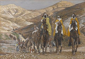 Biblical Magi - James Tissot: The Magi Journeying (c. 1890), Brooklyn Museum, New York City
