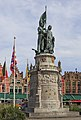 Bruges Belgium Statue-of-Jan-Breydel-and-Pieter-de-Coninck-on-the-Grote-Markt-02.jpg