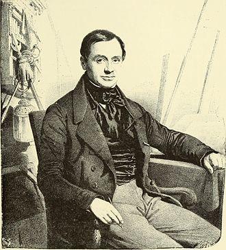 Jean-Baptiste Madou - Portrait of Jean Baptiste Madou (from Bruxelles à travers les Âges, Hymans frères, 1884)