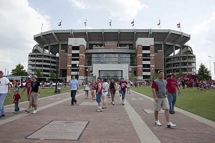 Bryant-Denny Stadium at the University of Alabama in Tuscaloosa Bryant-Denny Stadium by Highsmith 01.jpg