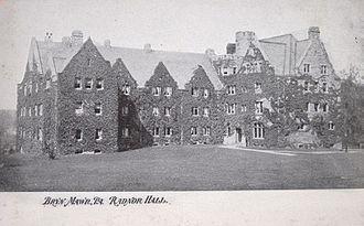 Cope and Stewardson - Radnor Hall, Bryn Mawr College, Bryn Mawr, Pennsylvania (1887).
