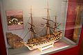 Buckler's Hard Maritime Museum 18 - Agamemnon model.jpg