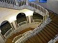 Bucuresti, Romania, Palatul Regal (Muzeul de Arta al Romaniei - Galeria de Arta Europeana - detaliu 24 - Scara Arabescata); B-II-m-A-19856.JPG