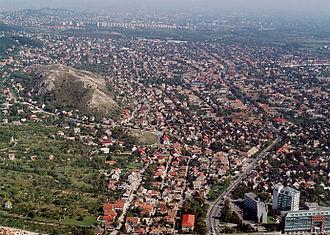 Budakeszi District - Image: Budaőrs Kőhegy
