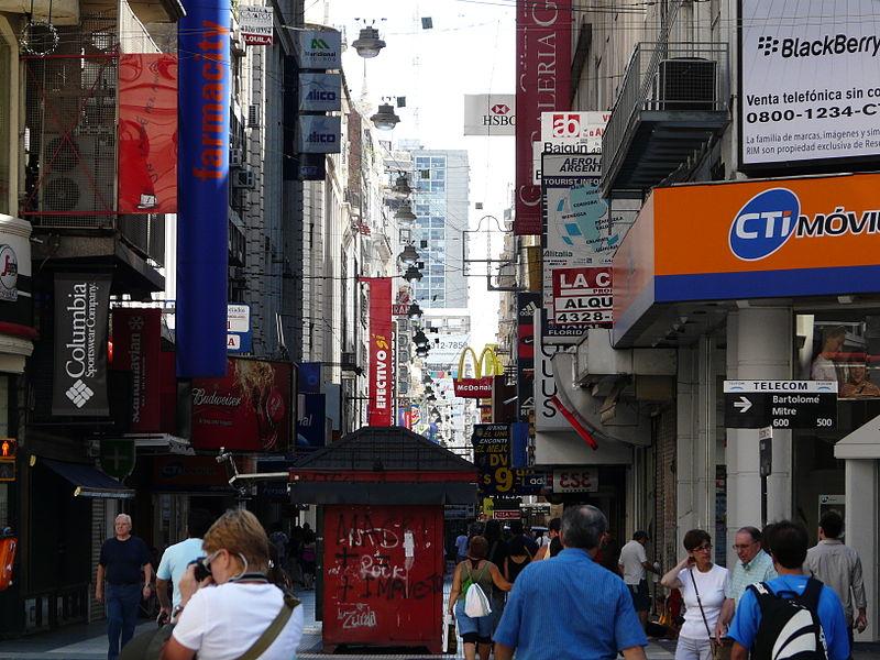 Dia de compras em Buenos Aires