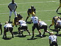 Buffaloes on offense at Colorado at Cal 2010-09-11 38.JPG