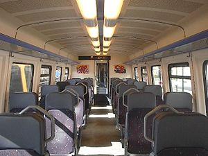 NS DM 90 - Image: Buffel Interieur