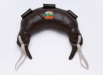 Bulgarian Bag - A 37 pound (17 kg) Bulgarian Bag.