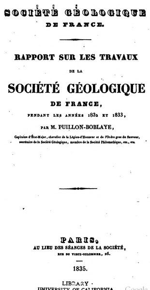 File:Bulletin de la société géologique de France - 1re série - 4 - 1833-1834.djvu