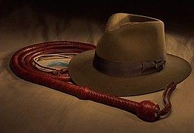 https://upload.wikimedia.org/wikipedia/commons/thumb/1/1b/Bullwhip_and_IJ_hat.jpg/274px-Bullwhip_and_IJ_hat.jpg