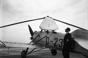 Cierva C.19 - Cierva C.19 Mk IV (Avro 620), D-2300 ex-G-ABUE
