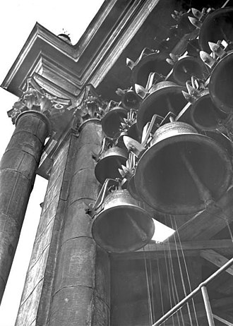Garrison Church (Potsdam) - Carillon in the tower of the Garrison Church