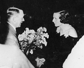 Triumph of the Will - Hitler congratulates Riefenstahl in 1934