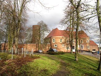 Brandenburg - Eisenhardt Castle in Bad Belzig