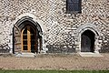 Burnham Abbey - detail of doorways - geograph.org.uk - 901583.jpg