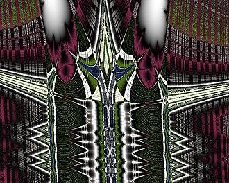 Burning Ship fractal - Image: Burning Ship Deep Zoom 2e 50