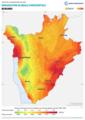 Burundi GHI Solar-resource-map lang-FR GlobalSolarAtlas World-Bank-Esmap-Solargis.png